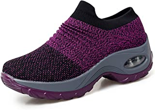 Chaussures Femme Baskets Air Cushion Running Sport Sneakers Mode Chaussures Légère Jogging Formateurs