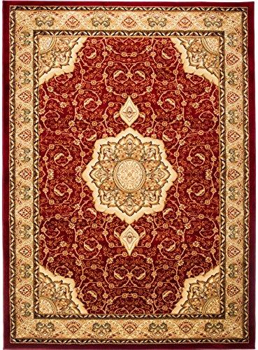 Carpeto Rugs Tapis Salon Rouge 70 x 140 cm Oriental/Iskander Collection