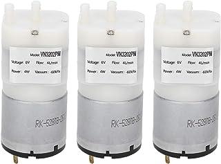 Leytala 3Pcs DC 6V Micro Diaphragm Pump 4L/min Miniature Water Air Vacuum Motor pressure Switch for Fish Tank 4W VN3202PM