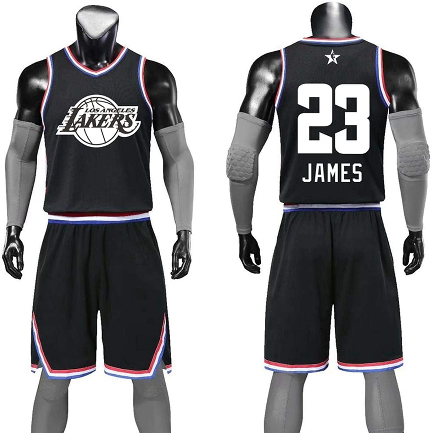NBA Fan Jersey All-Star Basketball Suit Stephen Curry Kevin Durant James Harden Lebron James Kyrie Irving Motion T-Shirt