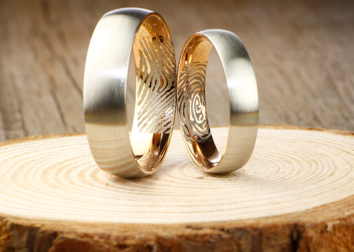 Your Actual High quality Finger Print Rings - RING Matt WEDDING Personalized Memphis Mall