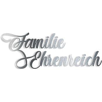 Design Schriftzug Hausnummer /& Straßenname Lasergeschnitten Zinkstahl Pulverlack