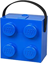 LEGO Box with Handle, in Blue