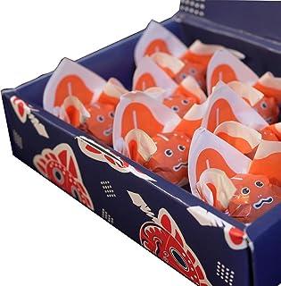 【青森名産】金魚ねぶた 8個入 (武内製飴所:金魚ねぶた玉ようかん・ひとくち林檎羊羹)