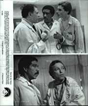 Historic Images - 1987 Press Photo Randall Tex Cobb and Richard Pryor Star in Critical Condition.
