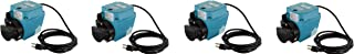 Little Giant 3E-34N Dual Purpose In-Line or Small Submersible Pump, Oil-Filled Pump, 1/15 HP, 115 Volt (Pack of 4)