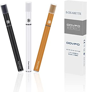 DOVPO 電子タバコ 禁煙補助に最適 使い捨て 吸引回数300回/本 3本セット MC-001