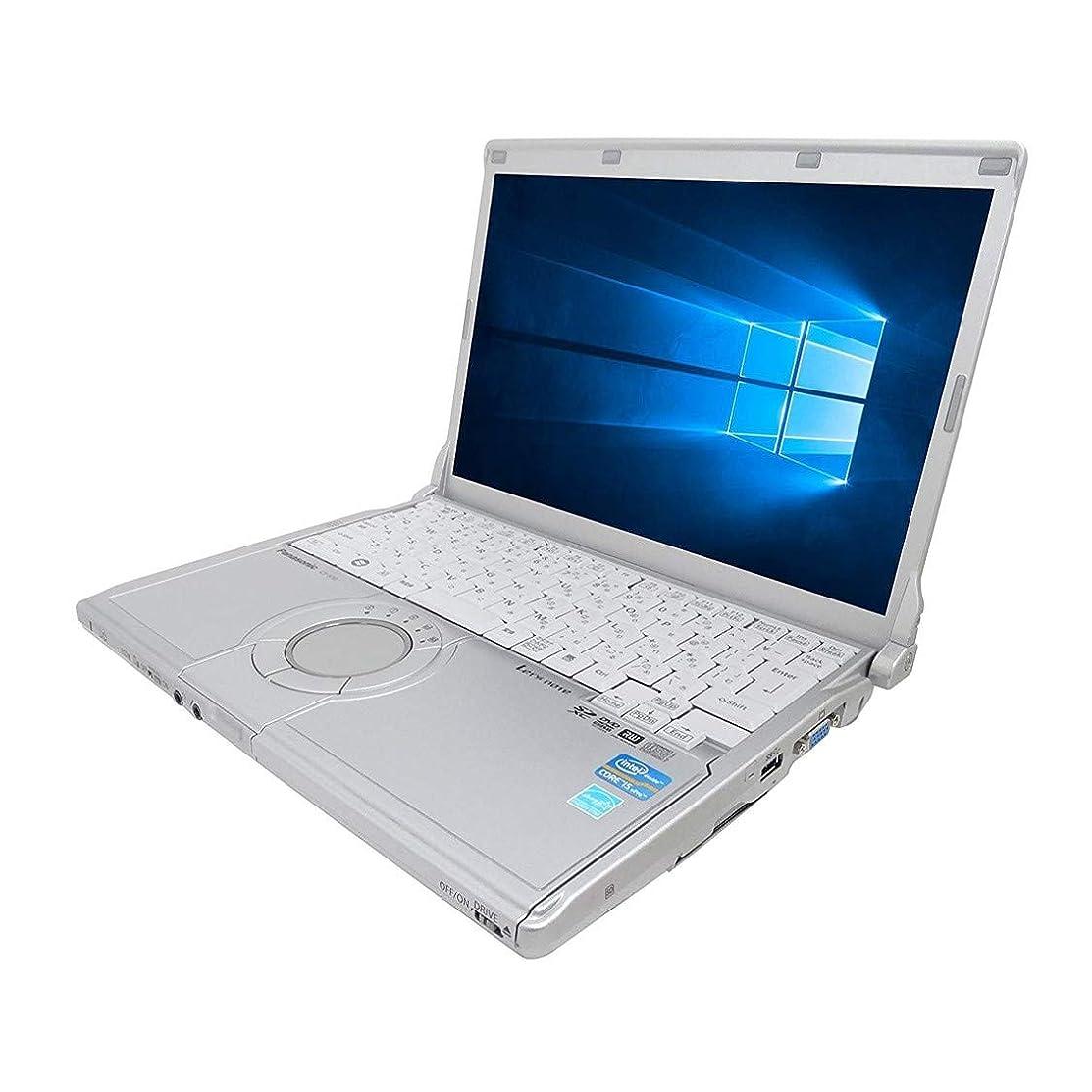 誇りに思う延期するトレーニング【Microsoft Office 2016搭載】【Win 10搭載】Panasonic CF-S10/次世代Core i5 2.5GHz/メモリー4GB/HDD:500GB/DVDスーパーマルチ/12.1インチ/USB 3.0/無線LAN搭載/中古ノートパソコン (ハードディスク:500GB)