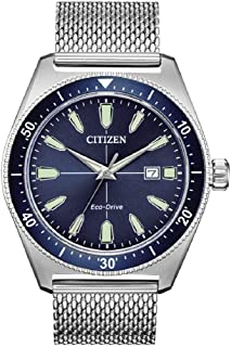 Citizen Men's Analogue Eco-Drive Watch with Stainless Steel Strap AW1591-52L