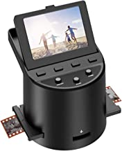 """$135 » Digital Film &Slide Scanner with 22MP, Converts 35mm, 126, 110, Super 8 Films, Slides, Negatives to JPEG, Tilt-Up 3.5"""" Lar..."""
