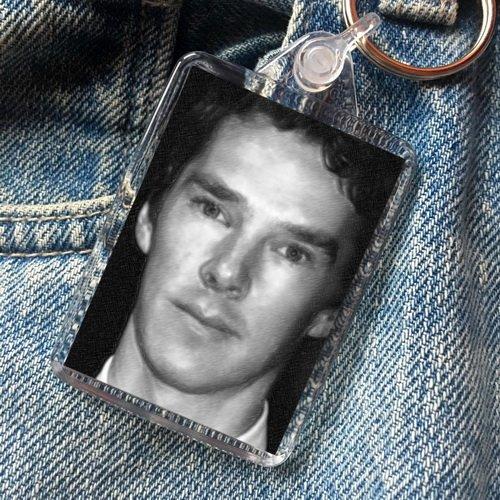 Benedict Cumberbatch - Original Art Keyring #js001