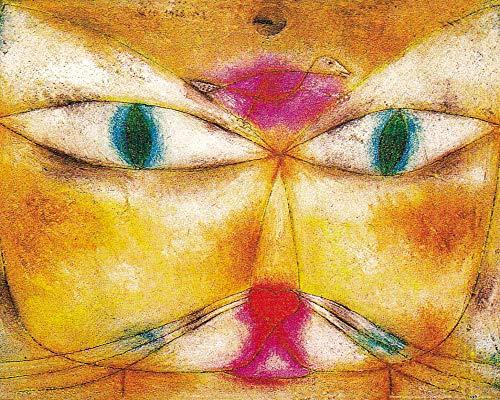 1art1 Paul Klee - Katze Und Vogel, 1928 Poster Kunstdruck 50 x 40 cm