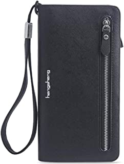 Wallets for Women Elegant Clutch Wallet RFID Blocking Wallet Long Purse Organizer Checkbook Card Holder Phone Wristlet Wallet