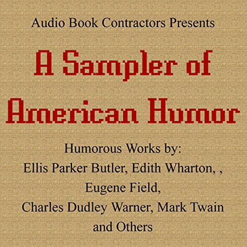 A Sampler of American Humor cover art