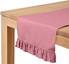 Vargottam Light Pink Home Décor Stylish Wedding Party Holiday Table Setting Décor Table Runner-14 x 144 Inch
