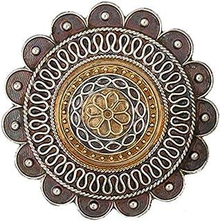 Aheli الهندي التقليدي عتيق بوهو مؤكسد قابل للتعديل بيان خاتم معقد منحوت الأزياء والمجوهرات للبنات النساء