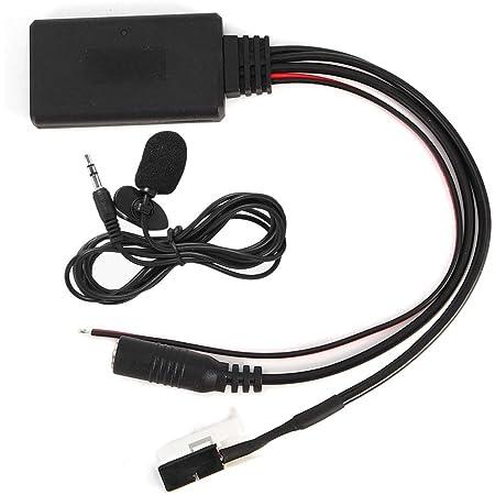 Aux Audio Kabel Adapter 12pin Für Peugeot 207 307 407 308 Citroen C3 C2 Rd4 Bt Stereo Funk Auto