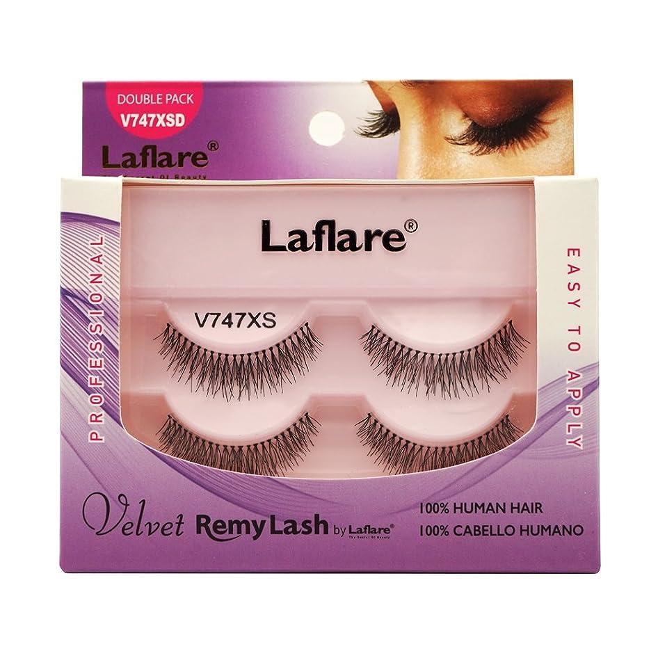 動脈面倒刃(3 Pack) LAFLARE Velvet Remy Lash Double Pack - V747XSD (並行輸入品)