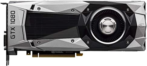 Nvidia GeForce GTX 1080 8GB FE Founders Edition GDDR5X Video Graphics Card (Renewed)