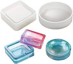 Ainany Silicone Molds Craft Ashtray Resin Casting Mold for DIY Asthtray Epoxy Mold