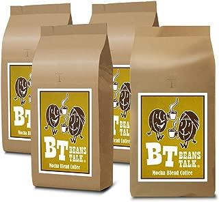 【Amazon.co.jp 限定】 ビーンズ トーク モカブレンド コーヒー 2kg (500g×4) (豆のまま)