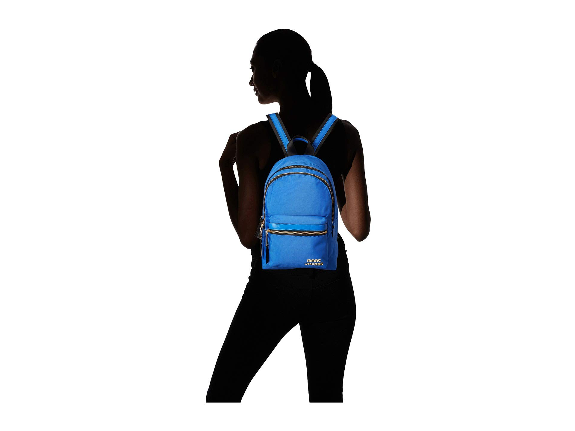 Blue Jacobs Medium Marc Dazzling Backpack Pack Trek YpqxwFT6
