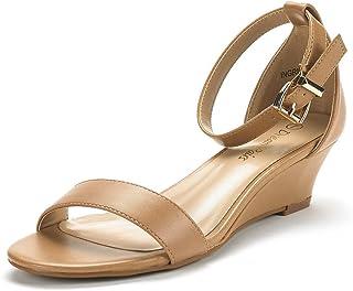 b330701ec70 DREAM PAIRS Women s Ingrid Ankle Strap Low Wedge Sandal