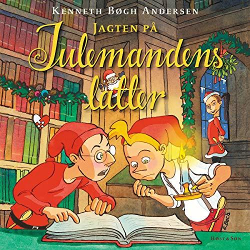 Jagten på julemandens latter audiobook cover art