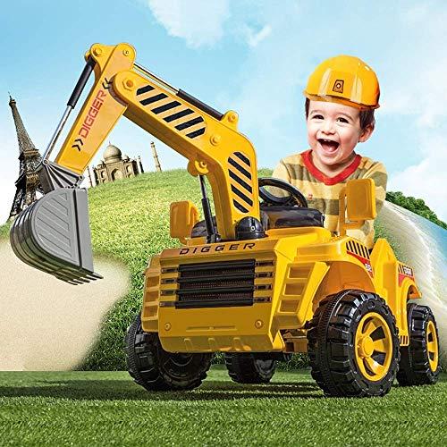 WGFGXQ RC Coche eléctrico Ingeniería Coche Tractor Control Remoto Excavadora Regalos para...