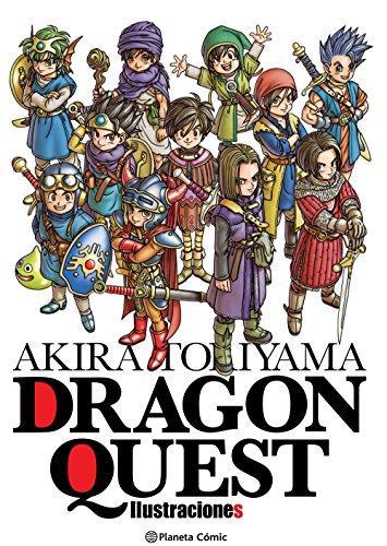 Akira Toriyama Dragon Quest Ilustraciones (Manga Artbooks)