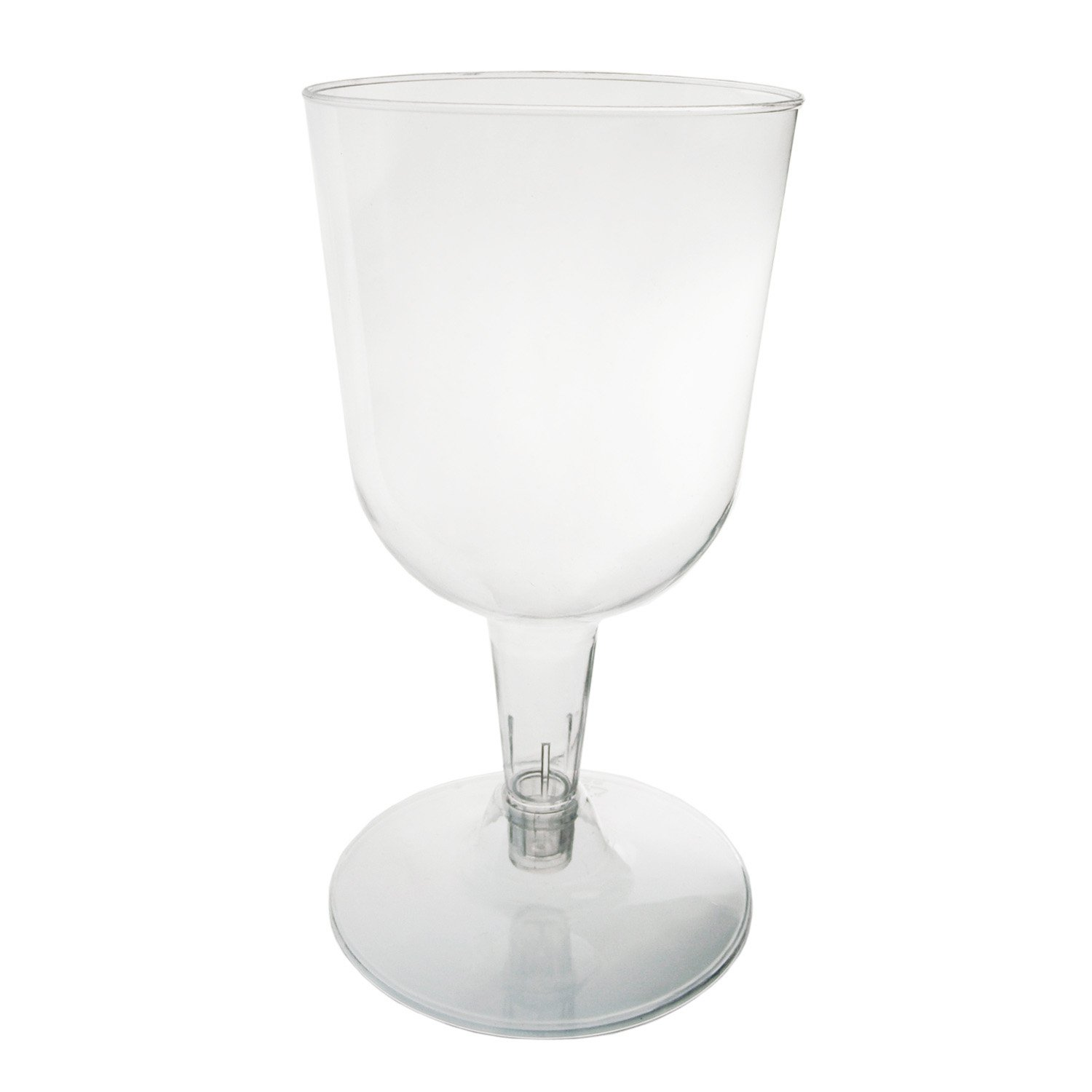 Party Essentials N55021 Hard Plastic 5.5-Oun 2-Piece Wine Glass Sale SALE% OFF 2021 spring and summer new