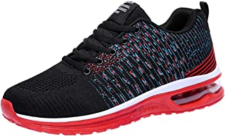 Yamallmen'S Running Sneakers,Lightweight And Breathable Comfortable Walking Shoes Mesh Casual Athletic Sports