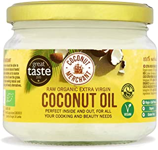 Coconut Merchant Organic Coconut Oil 10.1 Ounce | Extra Virgin, Raw, Cold Pressed, Unrefined | Ethically Sourced, Vegan, Ketogenic and 100% Natural 10.1 Ounce