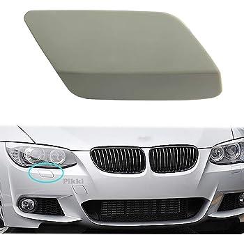 Passenger Side for BMW 328i BM1049114 2009 to 2012 New Headlight Washer Cover