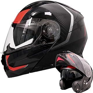 Helm MOMO FIGHTER FGTR CLASSIC ROT BORD GR/ÖSSE L