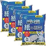 アイリスオーヤマ 紙の猫砂 7L×4袋 7Lx4袋