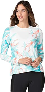Terry Soleil Flow Long Sleeve Cycling Top for Women – Lightweight Ladies Athletic Top with UPF 50+ Sun Protection