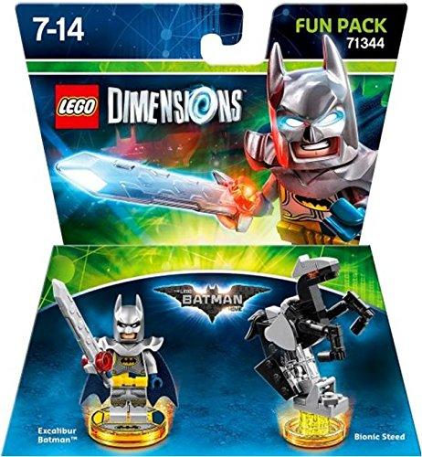Lego Dimensions Fun Pack Excalibur Batman Movie Fun Pack 71344