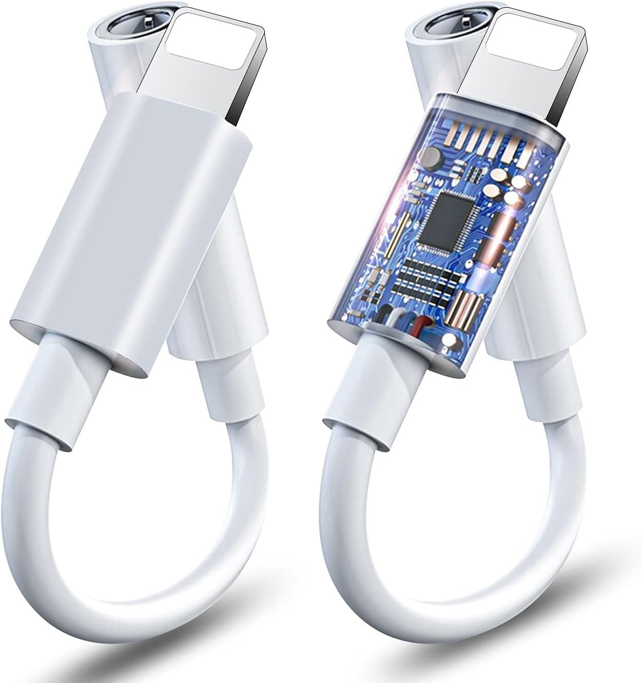 3.5mm Headphones Jack Adapter Award-winning store for 2 Apple Pack Memphis Mall iPhone MF