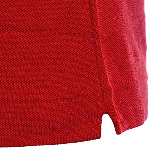 Lacoste Men's L1212-00 Original Short Sleeve Polo Shirt, Red (Corrida S5H), XXL (Manufacture Size: 7)