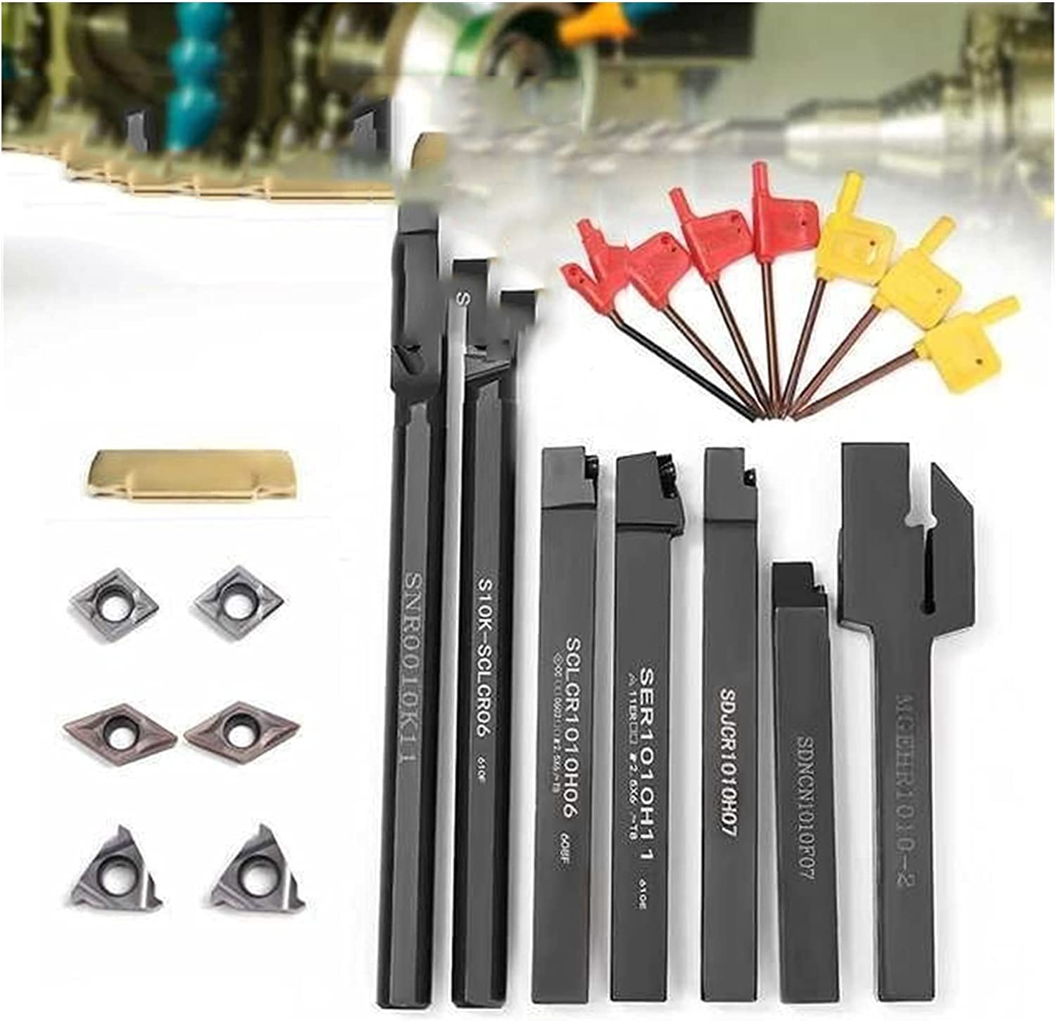 Choice ZDBH Lathe Woodworking Tool 10MM Inserts Free shipping New 12MM Shank Turn