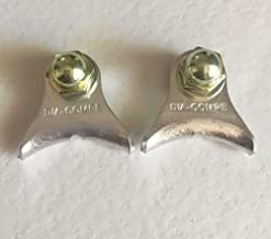 Dia Compe Vintage Road Bike Silver Center Pull Brake Cable Hanger 1 Pair NOS