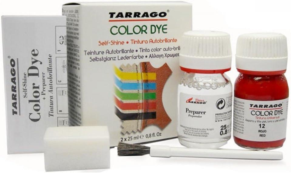 Tarragò Tinte para zapatos, bolsos y objetos de piel sintética y tela