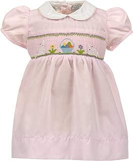 easter egg smocked dress