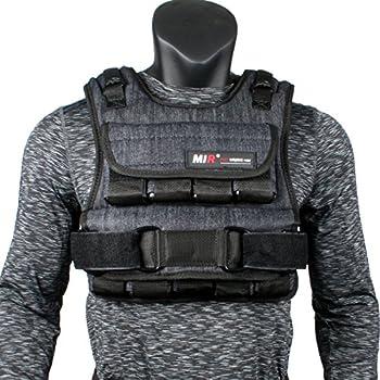 miR Air Flow Adjustable Weighted Vest 20 lb