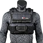 miR Air Flow Weighted Vest with Zipper Option 20lbs – 60lbs Solid Iron Weights