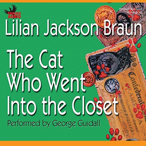 The Cat Who Went into the Closet audiobook cover art