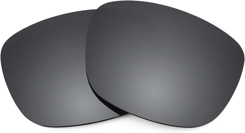 Revant Verres de Rechange pour Electric Knoxville XL - Compatibles avec les Lunettes de Soleil Electric Knoxville XL Chromé Noir Mirrorshield - Polarisés Elite