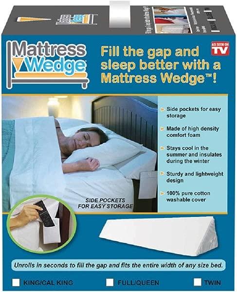Mattress Wedge Twin White