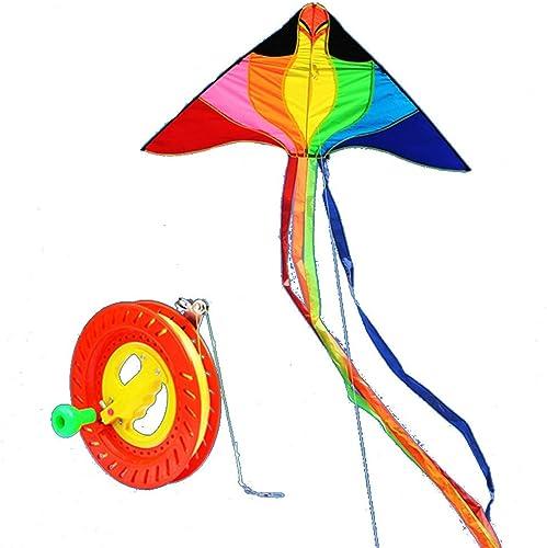 Unbekannt 2 Meter Kinder-Cartoon-Drachen Für Erwachsene Mit Rolle, Einfach Zu Fliegen (Farbe   F)